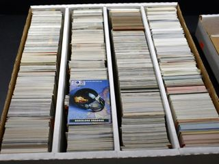 FOOTBAll BASEBAll BASKETBAll CARDS IN A BOX