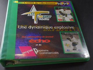 HOCKEY CARDS IN BINDER  98 99  MCDONAlDS