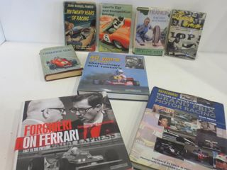 BOOKS ON MOTOR RACING