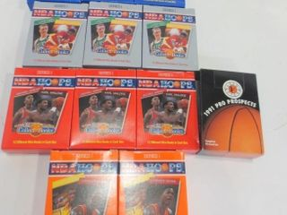 NBA HOOPS MINI BOOKS   12 IN EACH BOX   BOXES ARE