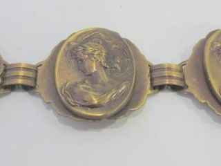 COPPER CAMEO BRACElET   7