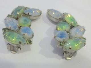 PAIR OF ClIP ON EARRINGS SIGNED KRAMER