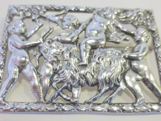 CORO BROOCH   SIGNED   2 3 4 X 2