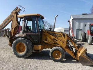 Case 580K Backhoe w Extendahoe  6950hrs