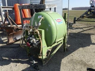 Calsa 120 Gallon 3PTH Fenceline Sprayer