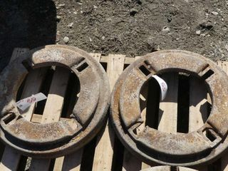 Pair of Wheel Weights