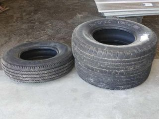 Pair of Michelin lTX lT265 75R16 Tires