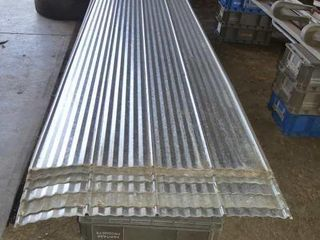 6 12ft Sheets of Galvanized Steel