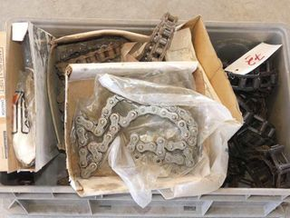 lot of Roller and Apron Chain