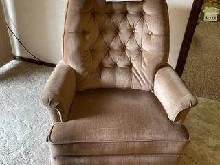 Vintage rocker recliner