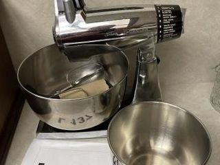 Sunbeam mixmaster12 speed  with attachments