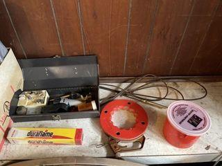 Plumbing snake  matches  Dremel tool  painting