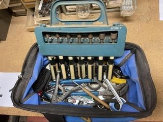 Nut driver set and miscellaneous tools