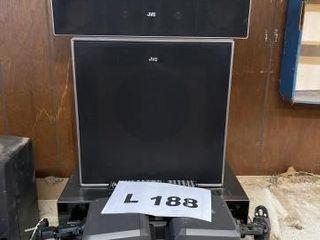 JVC surround sound theater system