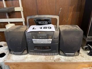 White Westinghouse stereo