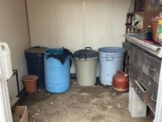 Contents of shed