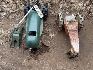Orbit lawn tractor and vintage craftsman lawn