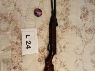 Pellet target rifle  shoots  177 cal