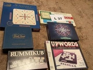 Board games  cards  dominoes and miscellaneous