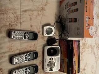 Uniden telephone system  Trimline corded phone