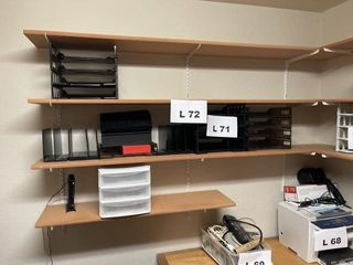Shelves 4    Contents not included  must bring