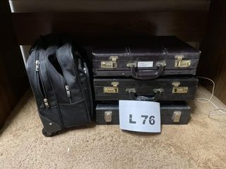 leather briefcase 3   1 Rolling computer bag