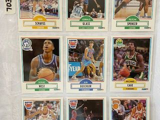 Vintage Basketball Cards   Bucks   Timberwolves   Nets   Seattle   NY Knicks