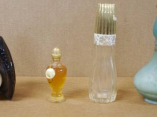 Vintage AVON Collectible Perfume   Cologne Bottles   One is a Baseball Glove w Ball