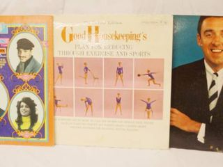 lot of 2 Vintage 12  78 rpm Vinyl Records   The 5th Dimension  Good House Keeping s and Jim Nabors