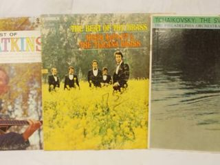 lot of 3 Vintage 12  78 rpm Vinyl Records   The Best of Chet Atkins  and More  See Photos