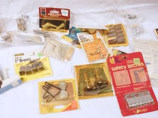lot of Hardware Items   See Photos