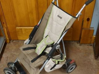 Foldable Jeep Wrangler All Weather Stroller