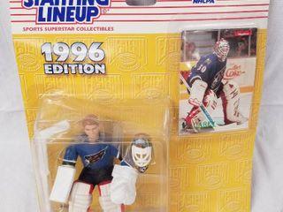 Sports Superstar Collectible   Starting lineup   1996 Edition   NHlPA   Jim Carey   No  68860