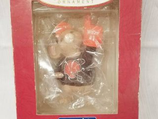 Collectible Keepsake Ornament   NFl Collection   Handcrafted   Dated 1996 in Original Box