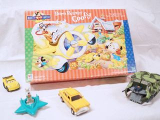 lot of Toys  Mickey Game  Cars and More  See Photos
