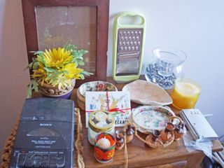 Vintage Sony Tape Player  pins move when you hit  play  Portable TV and other neat Household Decor Items