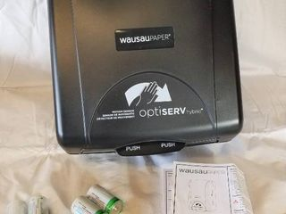 Electronic Roll Towel Dispenser   T87510 Wausaupaper