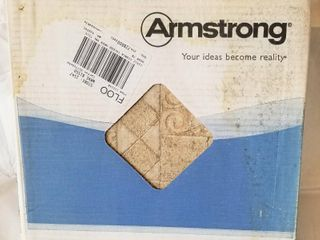 Armstrong Floor  Self Adhesive  12 x12 080 Thick  A1345 Signia N Wax    Unopened