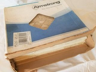 Armstrong Floor  Self Adhesive  12 x12 080 Thick  A1345 Signia N Wax  Quantity 22