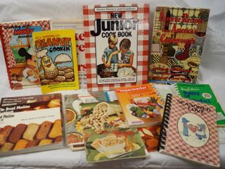 lot of Great Cook Books