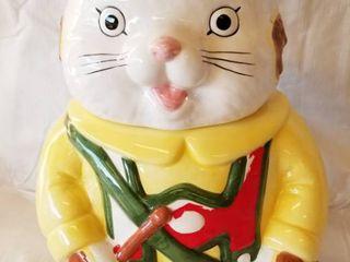 Vintage Cat Cookie Jar   OGGI Corp