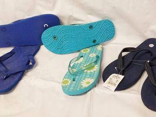 lot of 3 Summer Flip Flops