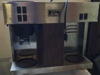 Bunn O Matic Coffee Maker and Warmer  Model   VPS   lights Up When Plugged In