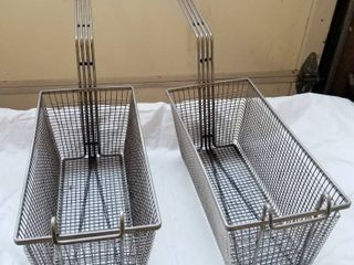 lot of 2 Frying Baskets