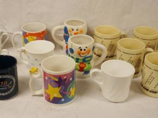 lot of Misc  Coffee Cups