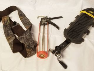 Men s Hunting Suspenders  Cocking Gun  Bell   Rear Bike Rack