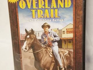 Overland Trail    Complete Series on 4 DVD s  17 Classic Episodes
