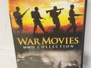 War Movies WWII Collection  on 4 DVD s Complete Set  20 Movies