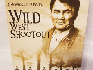 Wild West Shootout  4 Western Movies on 2 DVD s