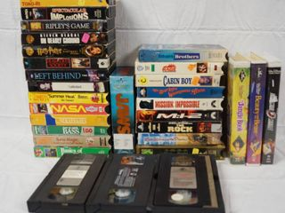 lots   lots of VHS Movies